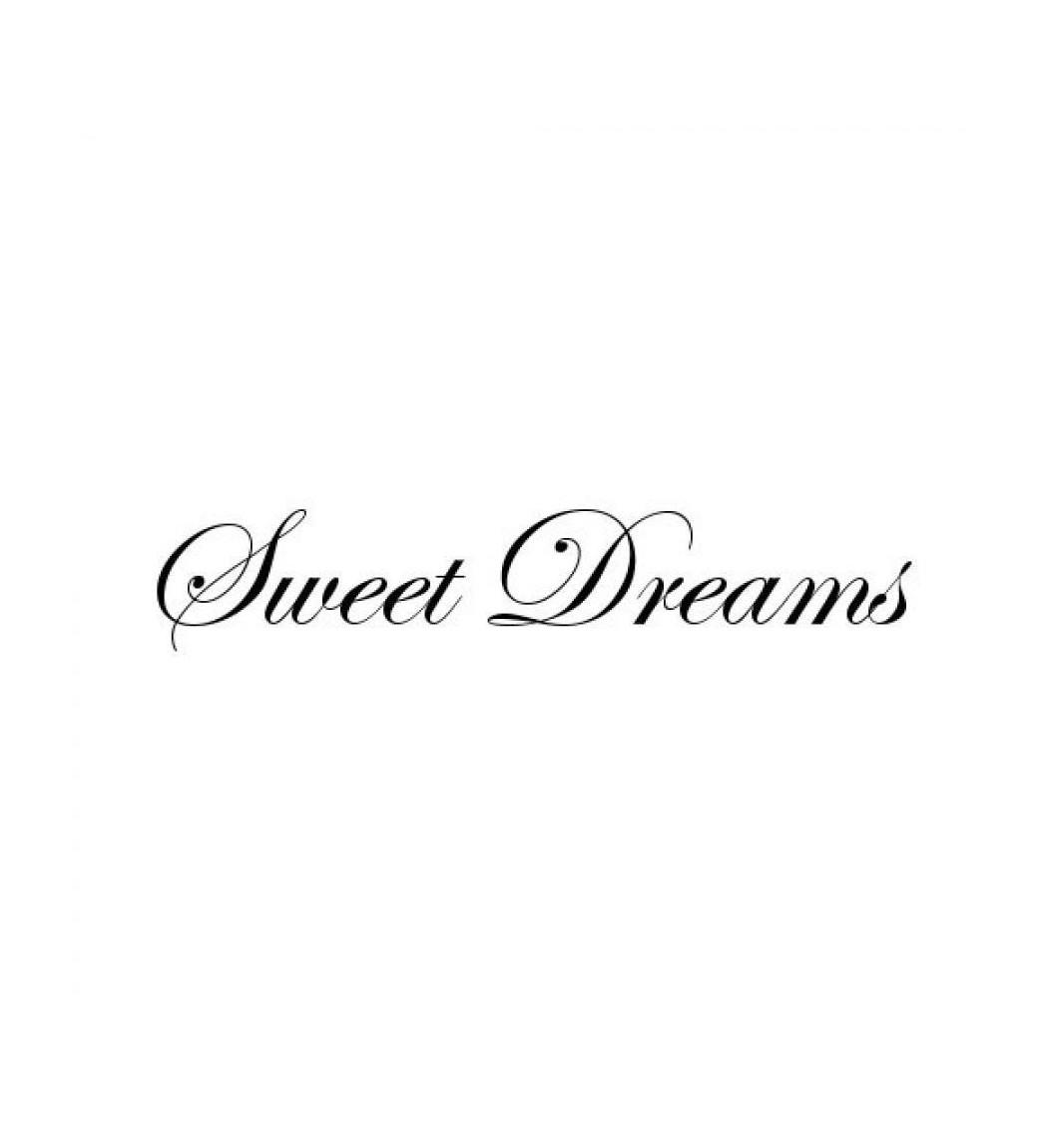 Wallsticker Sweet dreams 10x54 cm.  - 1
