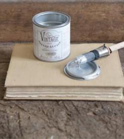 Vintage Paint silver metal 200 ml.  - 1