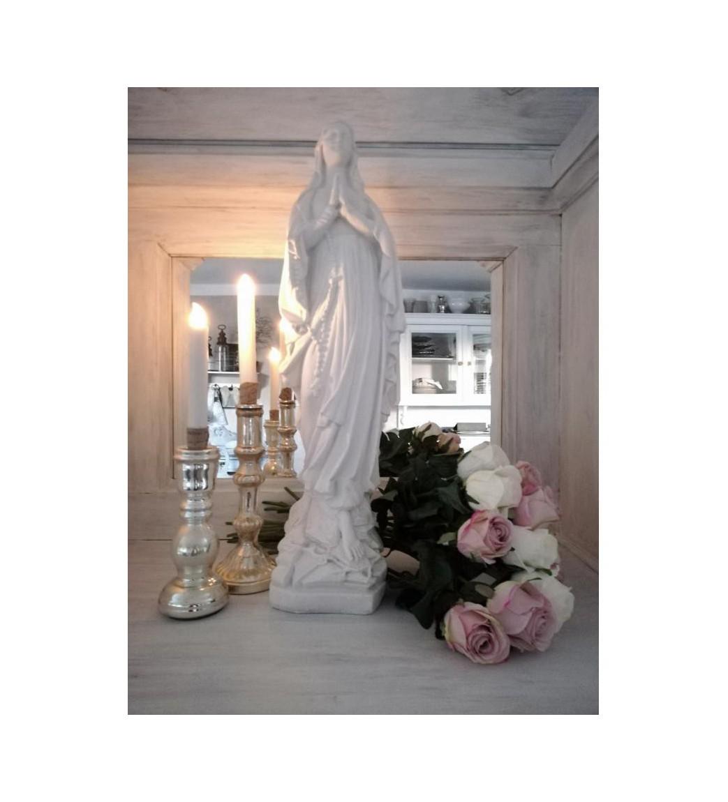 Kunstig sart rosa rose L: 50 cm. pr. stk.  - 1