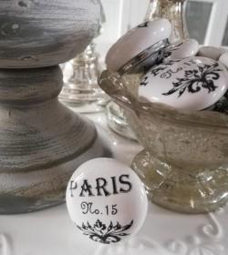 Møbelknop Paris Ø: 4 cm.  - 2