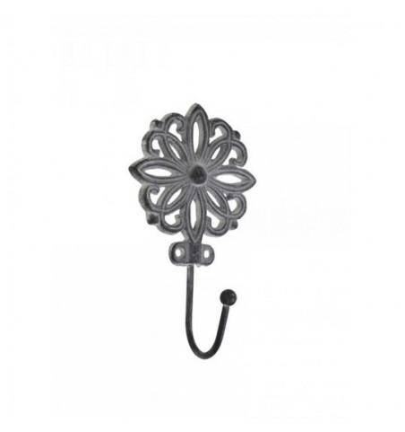 Antikgrå knage (blomsterformet) - 1