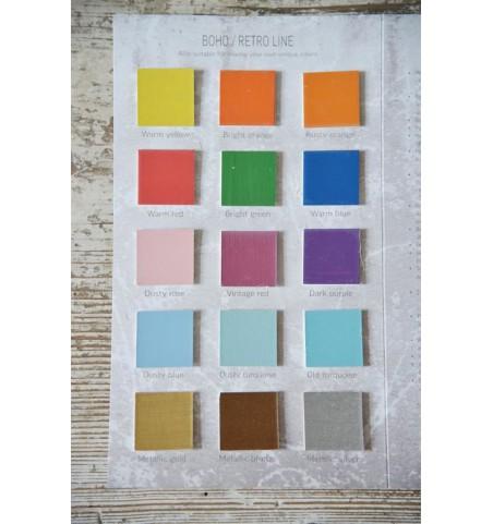Farvekort Vintage Paint kalkmaling  - 3