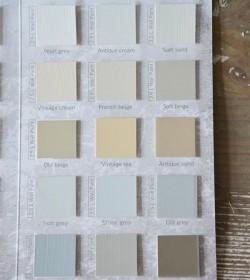 Farvekort Vintage Paint kalkmaling  - 4