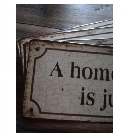 Skilt A home without a dog...  - 2