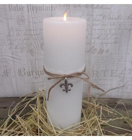 Lille fransk dekorationslilje i sølv - 1