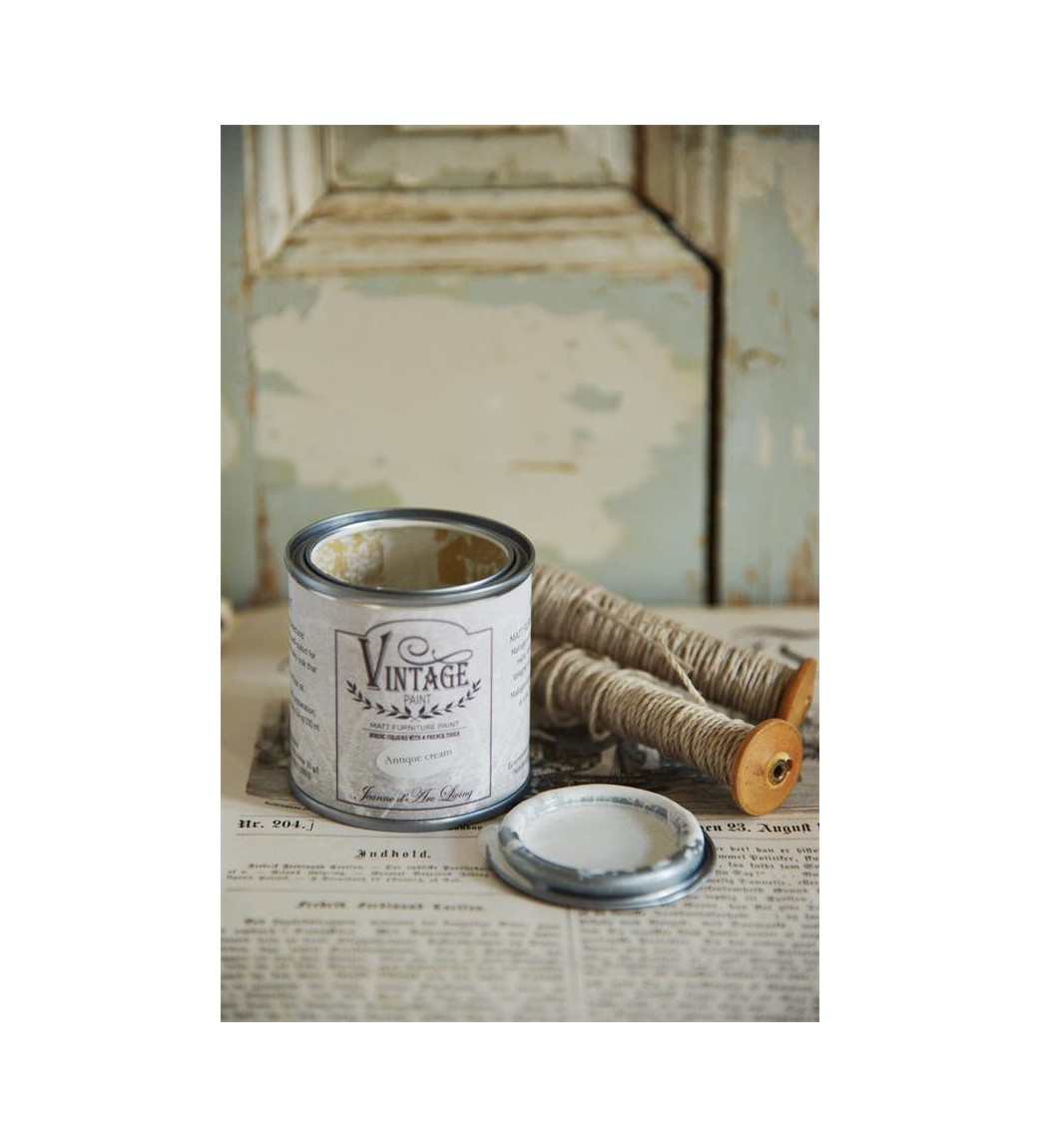 Kalkmaling Antique cream 100 ml - 1