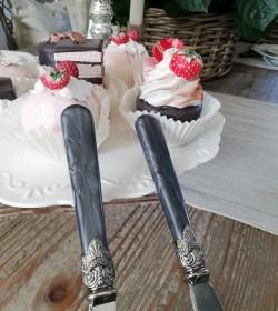 Akryl kagespade og kagekniv...