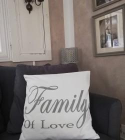 Hvidt pudebetræk Family of...
