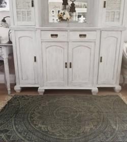 Tæppe med mandalamønster...