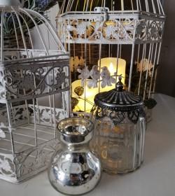 Vase i fattigmandssølv H:...