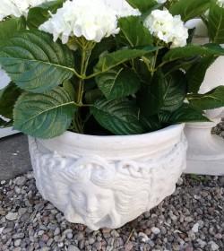 Blomsterkrukke i marmor H:...