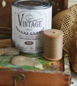 Kalkmaling Vintage brown 700 ml  - 1