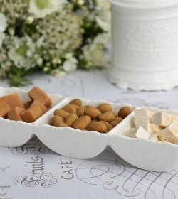 Provence snackskål med 3 rum - 1