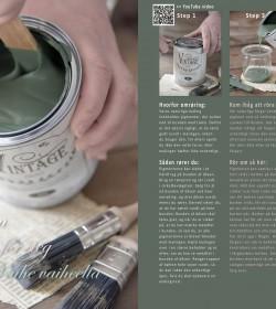 Hæfte Vintage Paint vejledning DK/SE/FI - 4