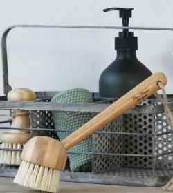 Opvaskebørste i bambus