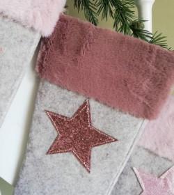 Lysegrå julesok med...