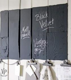 Kalkmaling Black velvet 700...