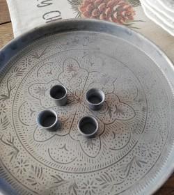 Adventsbakke med 4 magnet...
