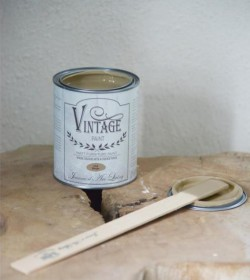 Kalkmaling Old beige 700 ml.  - 1
