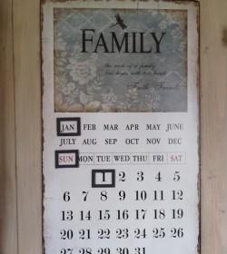 Romantisk evighedskalender (Family) - 1