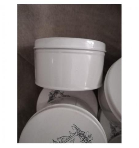 Rund cremehvid dåse (Maison) - 2