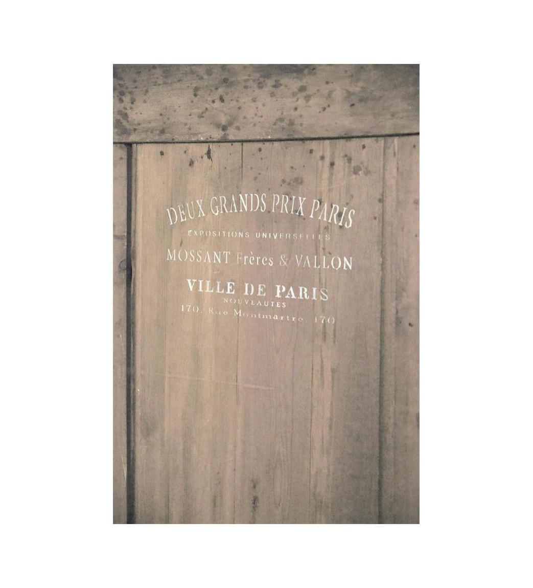 Stencil (Ville de Paris..) 14,5x15 cm.  - 1