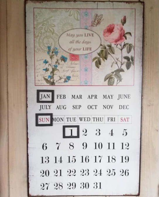 Evighedskalender (Blomster) - 1