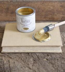 Vintage Paint guld metal 200 ml.  - 2