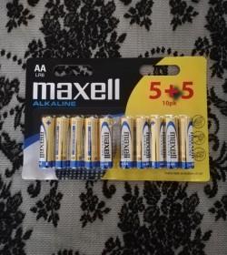Pakke med 10 stk. AA batterier  - 1