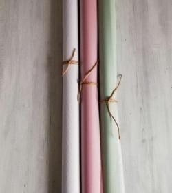 Silkepapir hvidt 10 stk. ark 50x75 cm.  - 2
