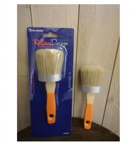 Penselpakke 3 (2 ovale pensler og 1 par handsker str. 9) - 3