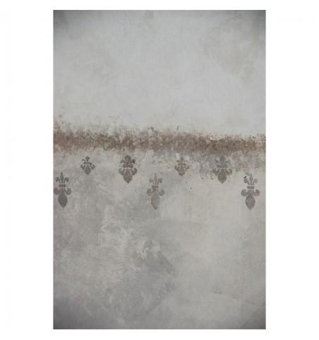 Stencil (Franske liljer) 16x27 cm.  - 2