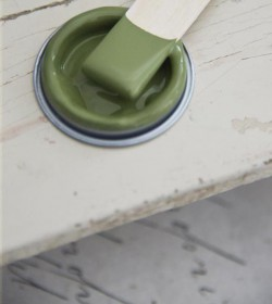 Kalkmaling Olive green 700 ml. - 3