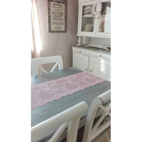 Antik rosa blonde bordløber pr. meter